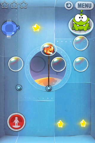 CutRope iOS-screenshot