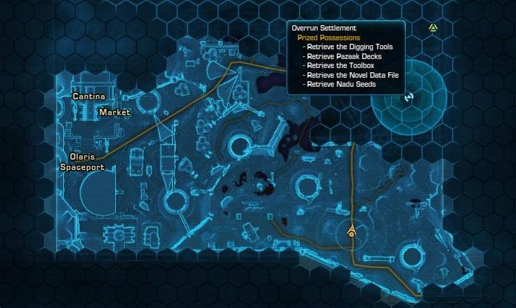 Map radius