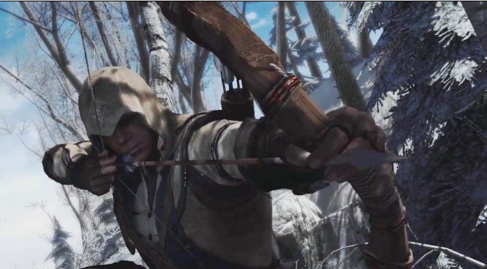 Ubisoft Teases First Assassins Creed 3 Gameplay Footage Save Game