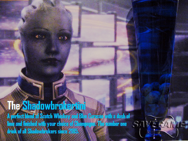 The Shadowbrokertini (Liara)
