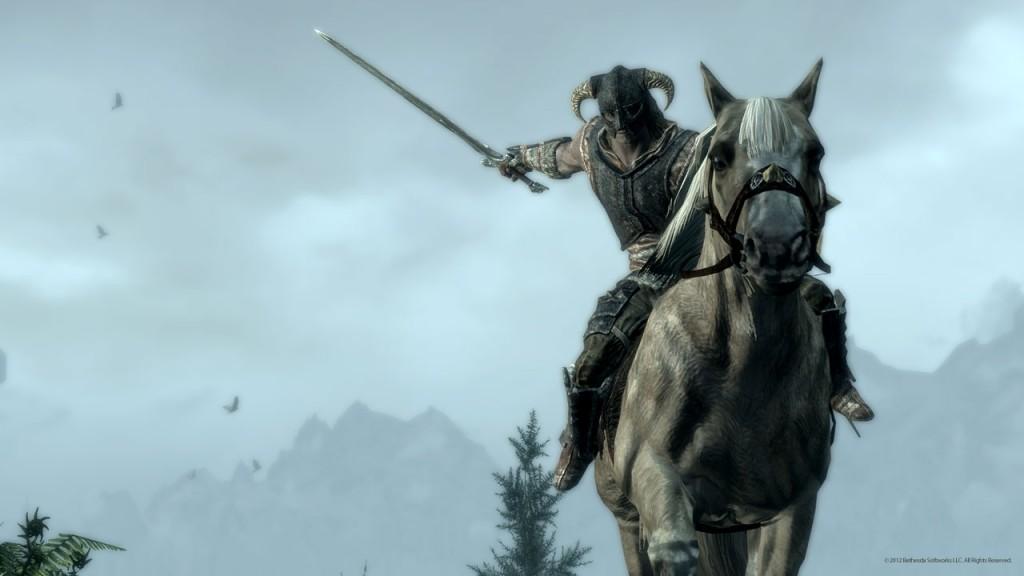 skyrim-horse-combat