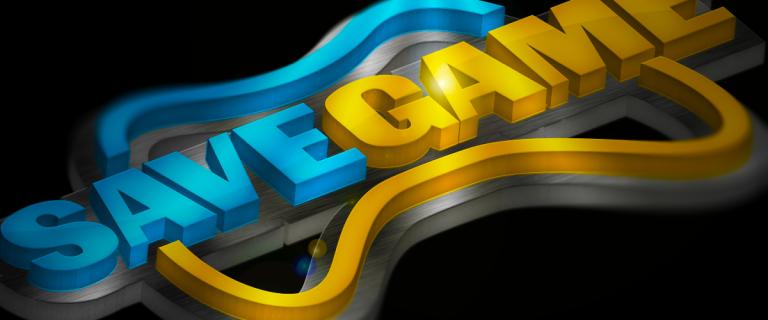 Save Game 3D Logo