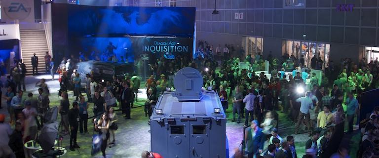 E3 2014 Show Floor