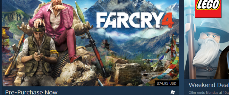 Far Cry 4 returns to Steam