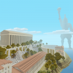 Minecraft Greek Mythology Mash-up