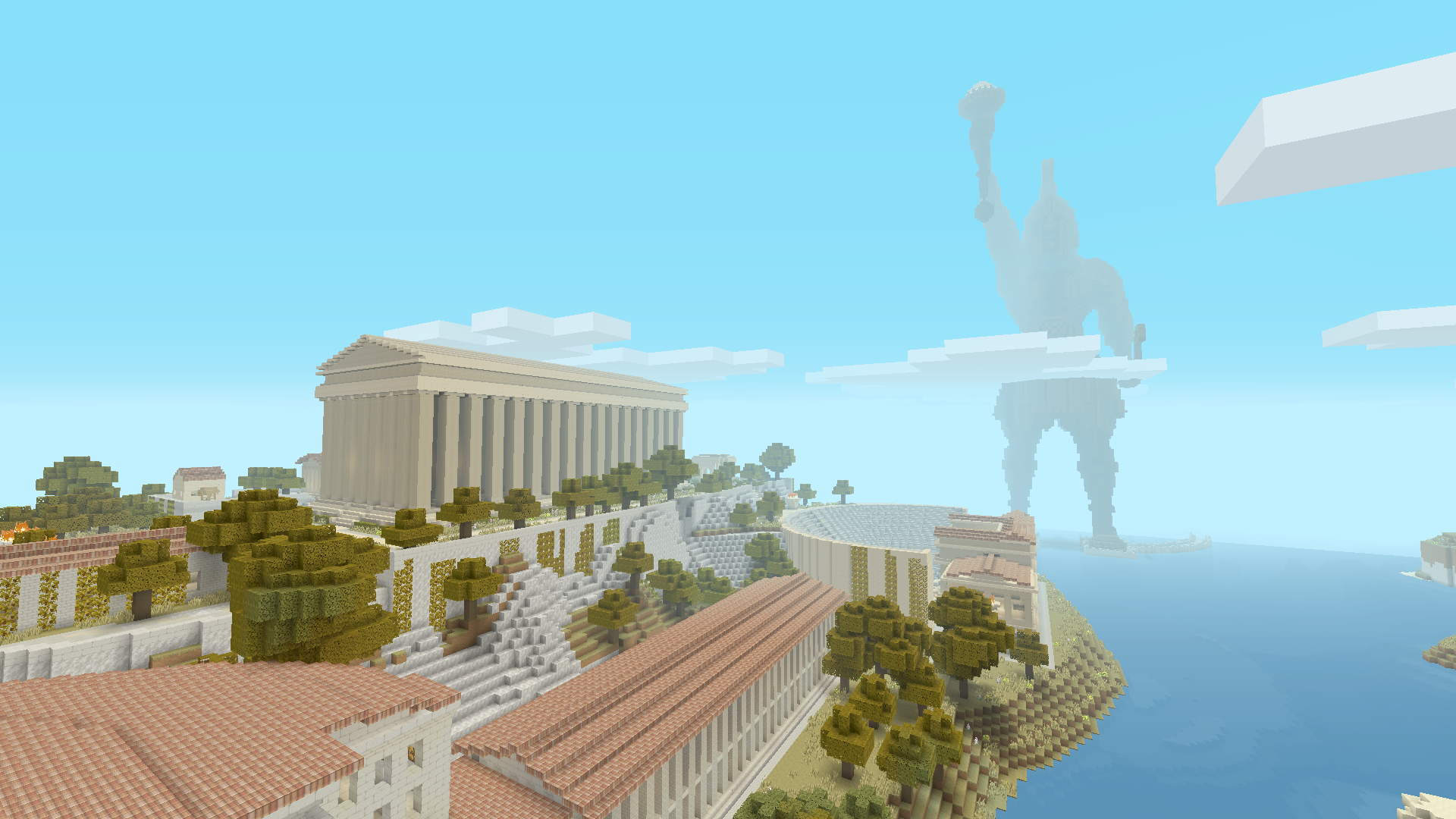 Minecraft Greek Mythology Mashup