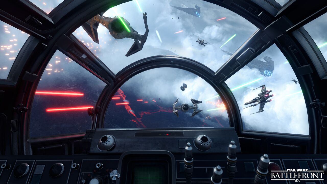 star wars battlefront - tie