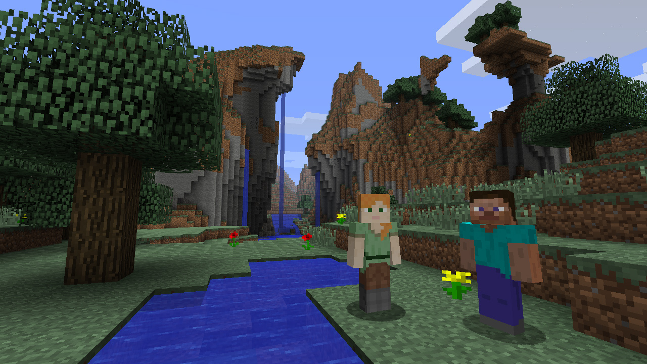 Minecraft Wii U Edition screenshot (3)