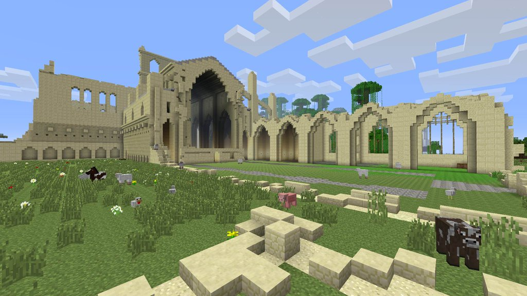 Minecraft Console Edition's BIG #TU31 update - Save Game