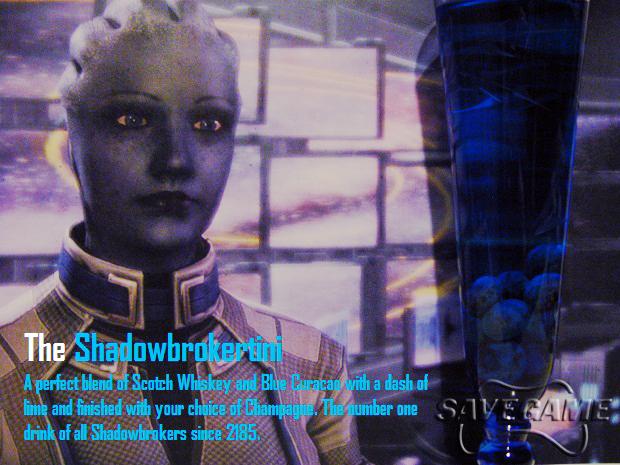 The Shadowbrokertini (Liara)